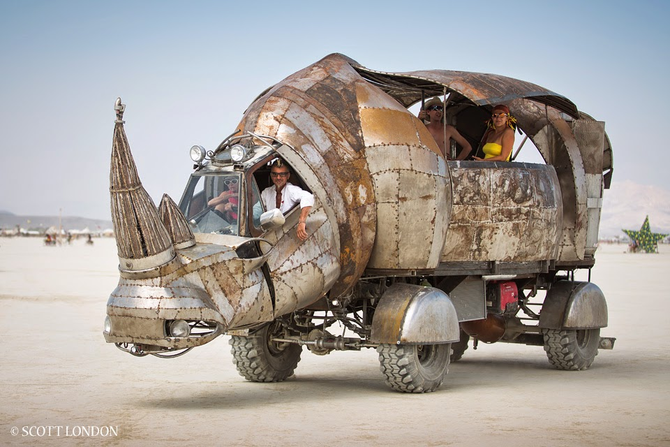 old and unique cars: images of Burning Man vehicles, by Scott London ...
