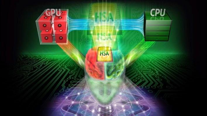 Server Chip Heterogeneous System Architecture