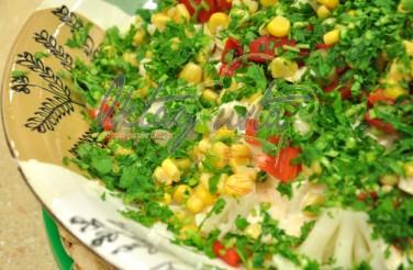 Oktay Usta Biberli Karnabahar Salatası Tarifi Yeşil Elma