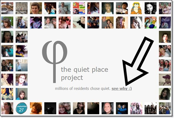 Thequietplaceproject son relaxant