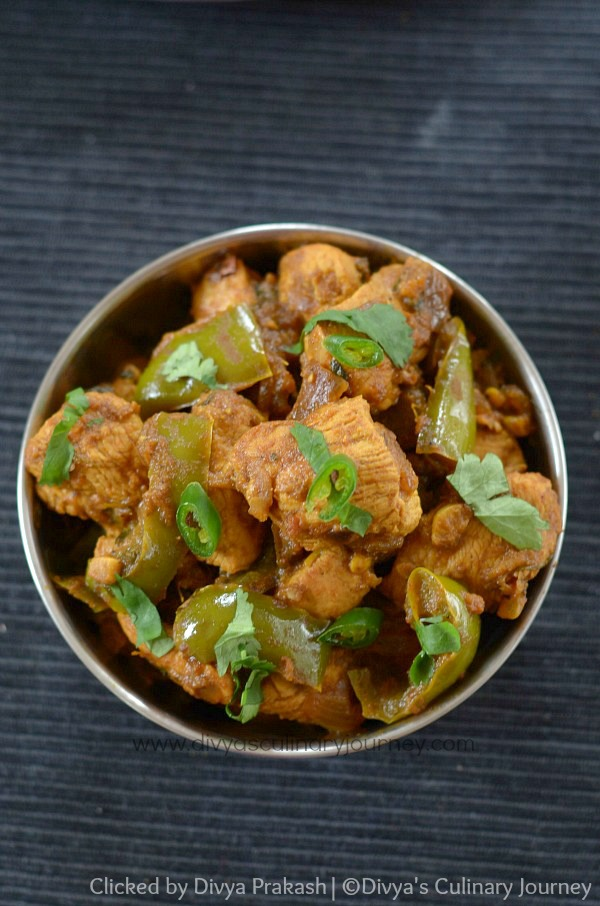 Kadai Chicken Recipe / Chicken Karahi
