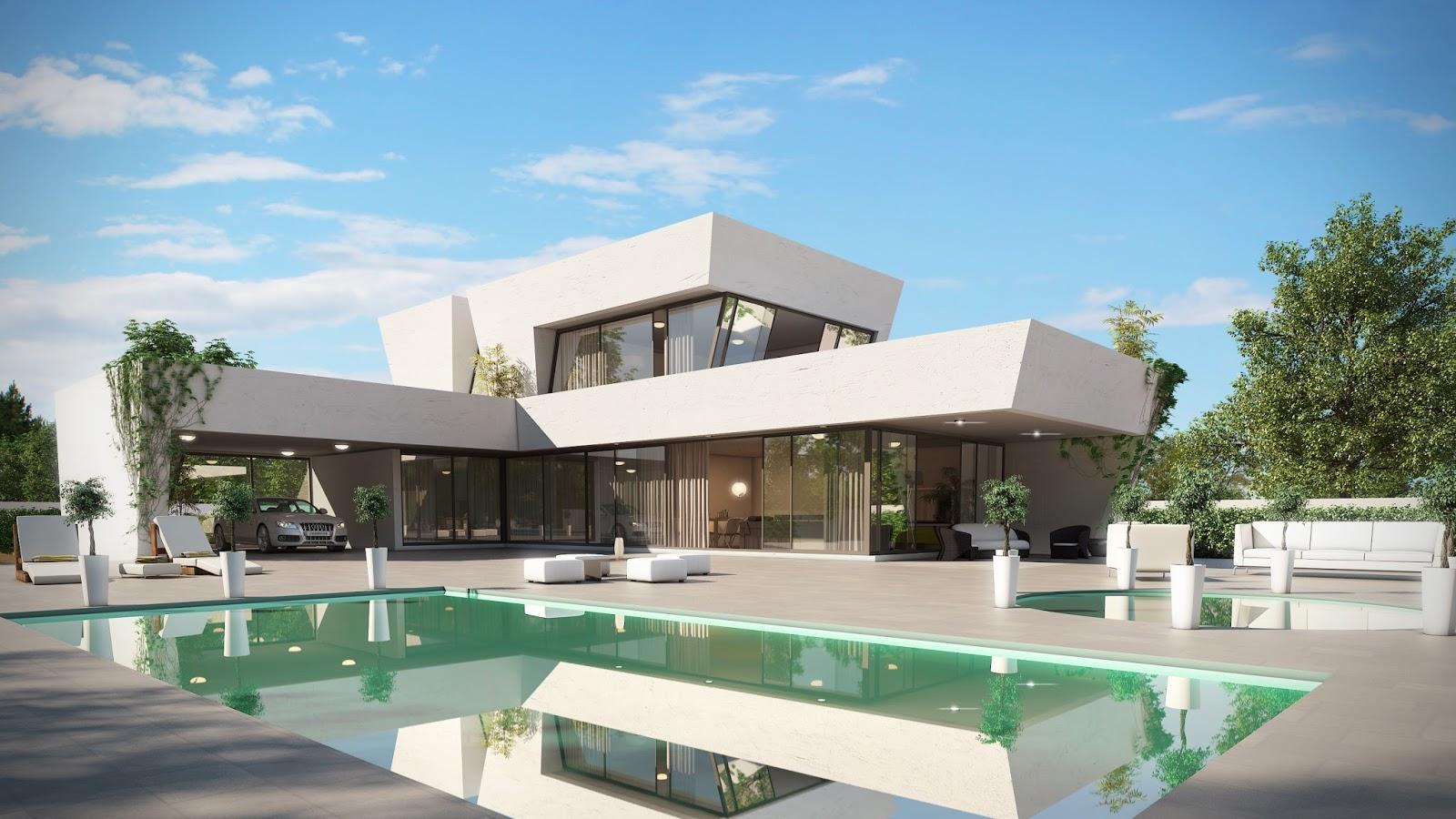 Adelante d dise o casas modernas casas ecoeficientes - Casas de madera diseno moderno ...