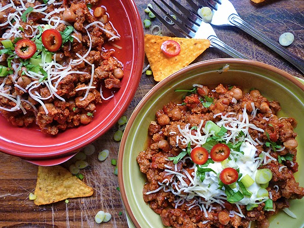 Slow Cooker Turkey and Chorizo Chilli Recipe