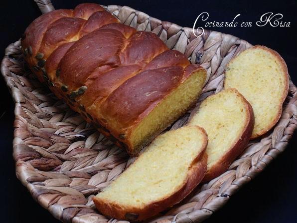 Cocinando con kisa pan de calabaza trenzado kitchenaid y for Pane con kitchenaid