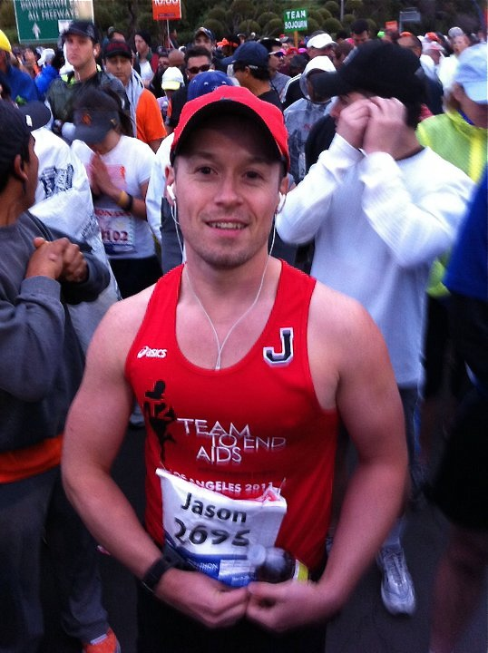 Jason before LA Marathon