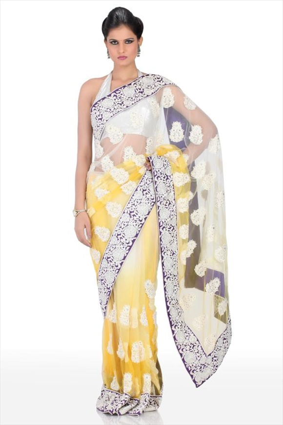latest saree designs