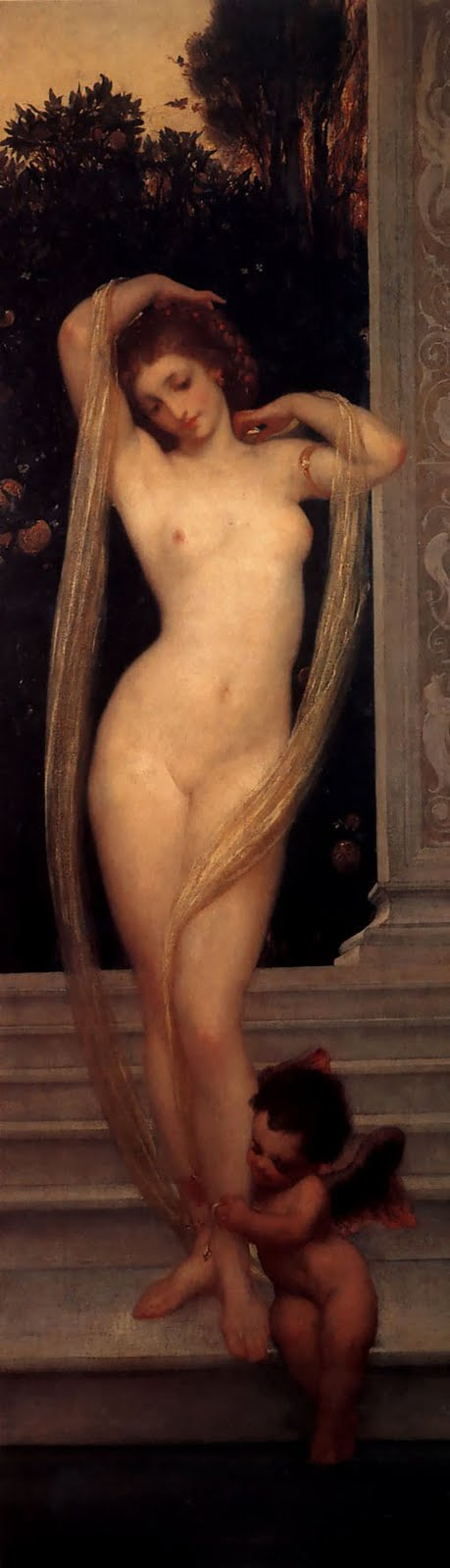 lord frederick leighton bather
