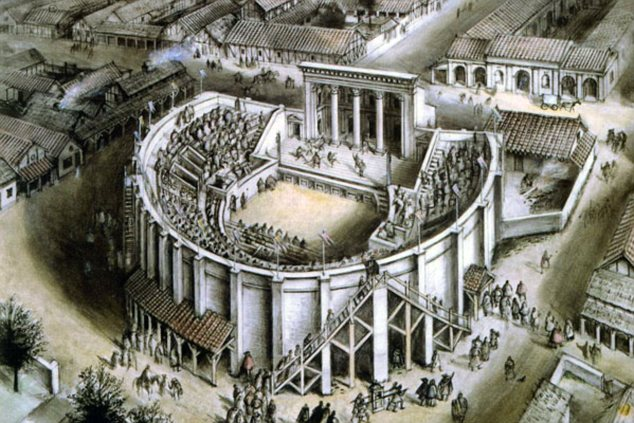 a trip to the roman theatre essay