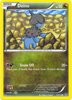 Deino Phantom Forces Pokemon Card