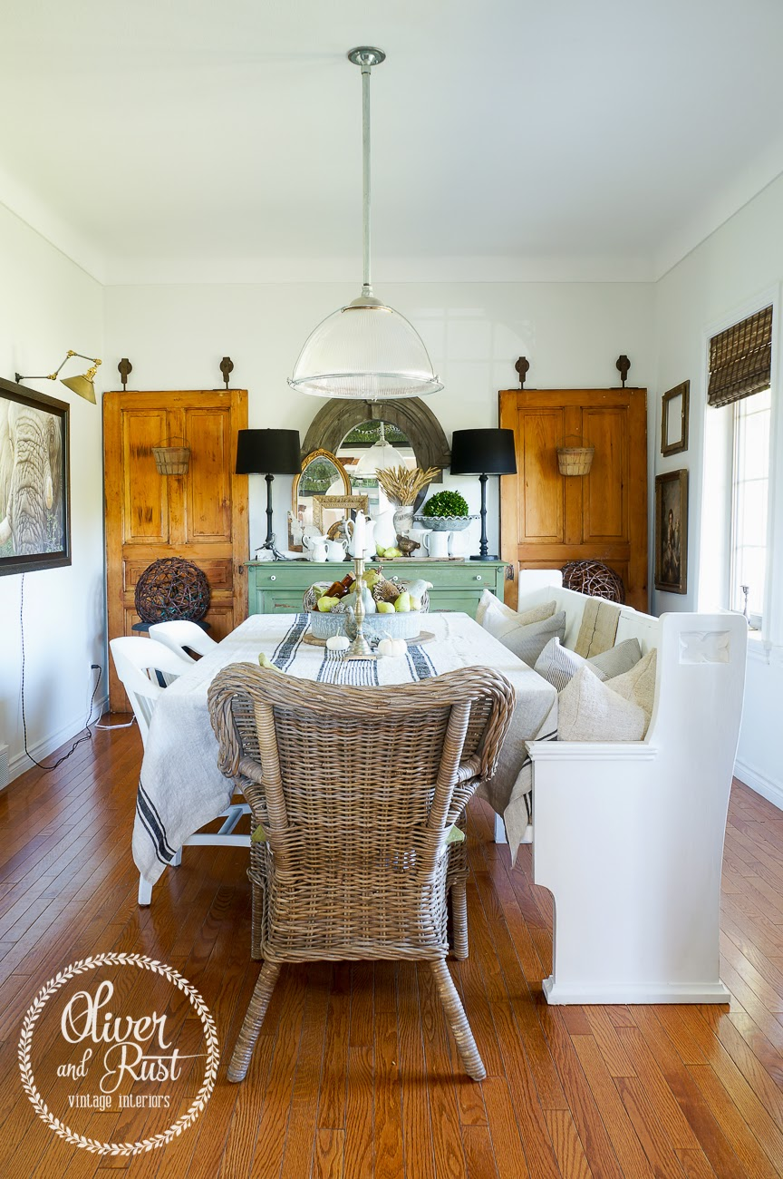 Autumn In The Dining Room