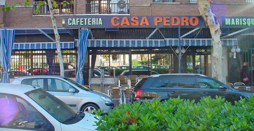 Casa,Pedro,Marisquería,Avenida,Cruz,de,Juárez,Barrio,Santa,Rosa,14006,Córdoba,