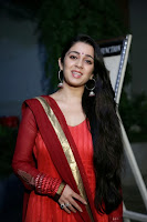 Actress Charmi Kaur Pictures in Red Salwar Kameez at Country Club Asia's Biggest New Year Bash 2014 Press Meet 0010.jpg