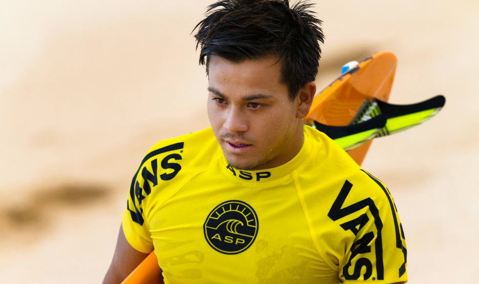 58 Vans World Cup of Sufing 2014 Keanu Asing Foto ASP