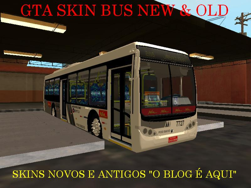 GTA SKIN BUS NEW &amp; OLD