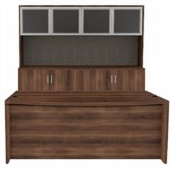 AM-390N Desk and Credenza Set by Cherryman