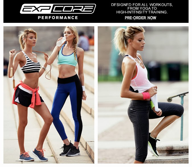 EXPCore, Express fitness wear, workout clothes