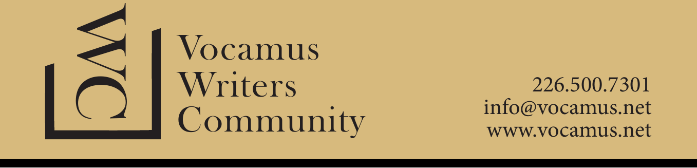 Help the Vocamus Writer's Community!