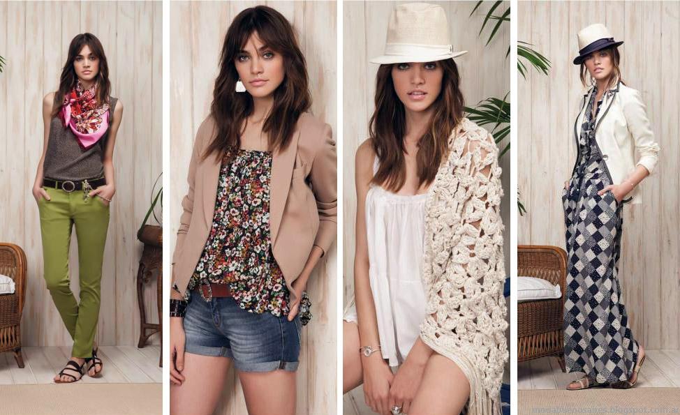 Moda 2015. Looks colección Cardón Mujer verano 2015. Moda verano 2015.