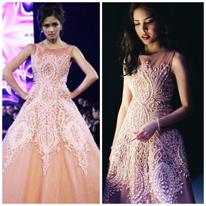 Fashion PULIS: Stylist Makes Maine Mendoza Wear Recycled Gown on ...