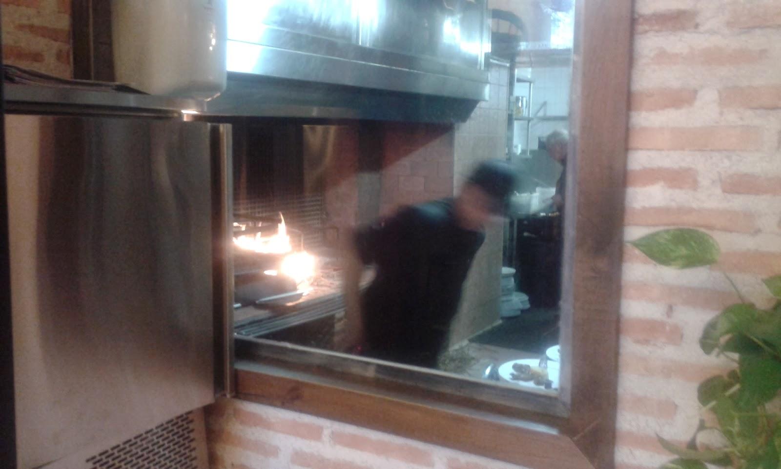 Cocina de restaurante Rincón La Vega de Levante