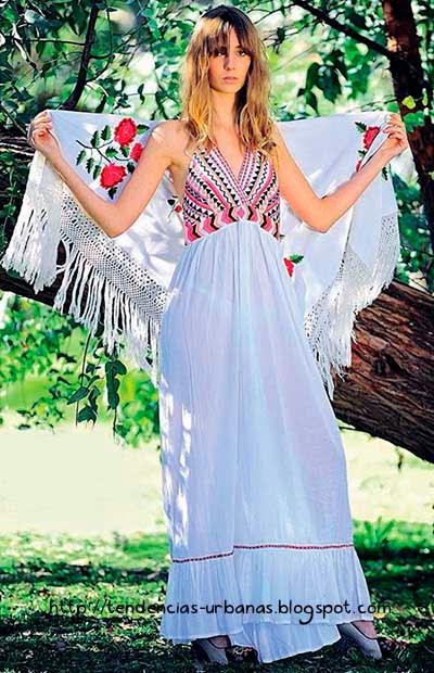 vestido estilo étnico india style colección verano 2015