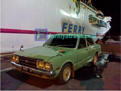 kirim mobil sedan dari Surabaya tujuan Banjarmasin dengan kapal roro