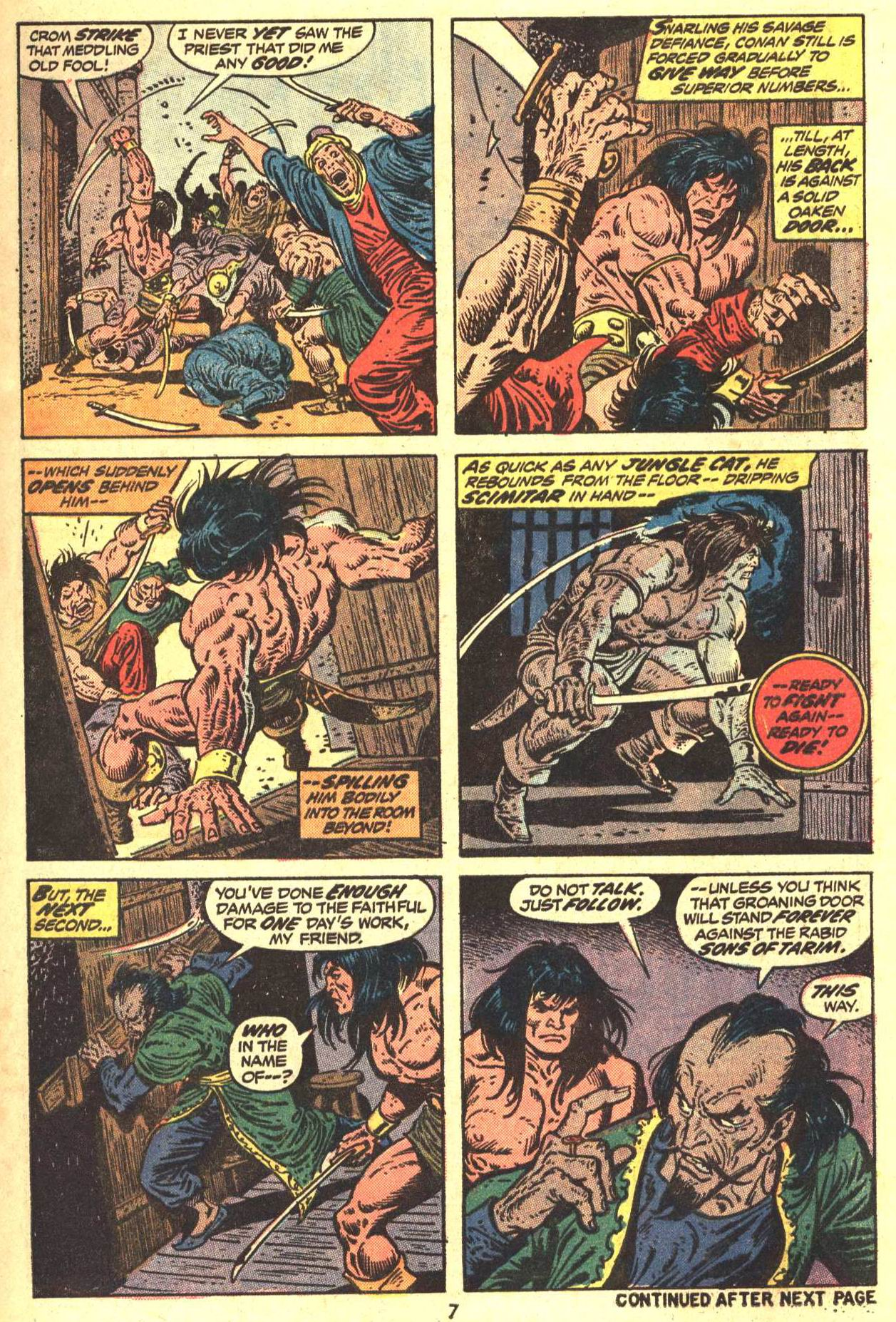 Conan the Barbarian (1970) Issue #29 #41 - English 7