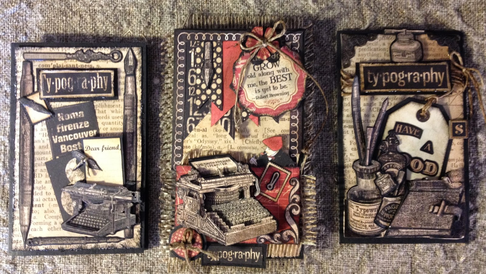 Vintage style scrapbook ideas - 4 Card Is A More Feminine Style Cut Out Live Love Laugh And Pop Them Up With 3d Foam Bench Die From Marianne Design