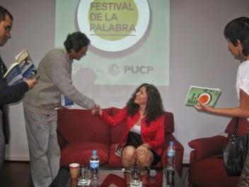 I Festival de la Palabra 2014 en Lima-Perú