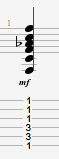 Fm guitar chord