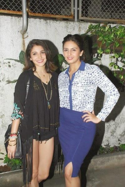 Anushka Sharma and Huma Qureshi