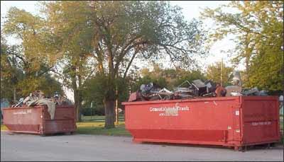 dumpster bin rental in Toronto