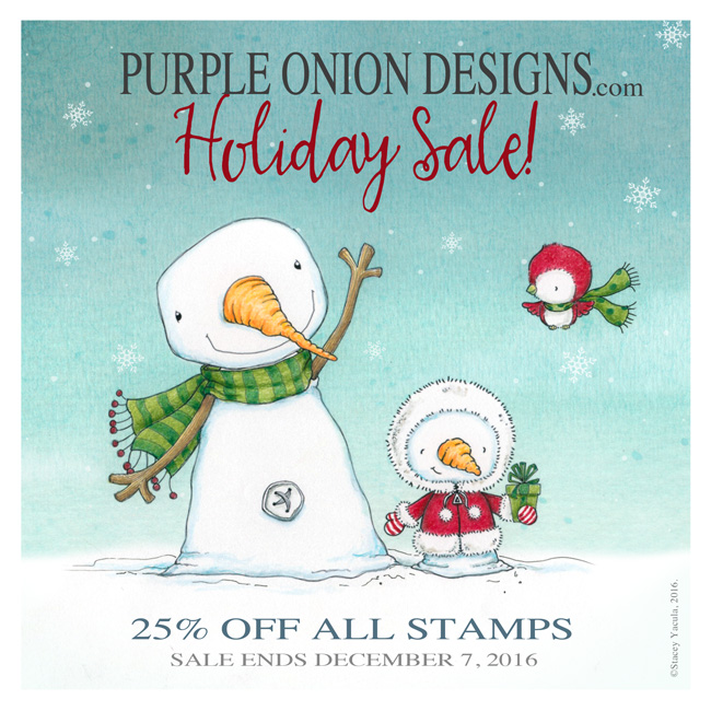 Sale bei Purple Onion Designs bis 07.12.16
