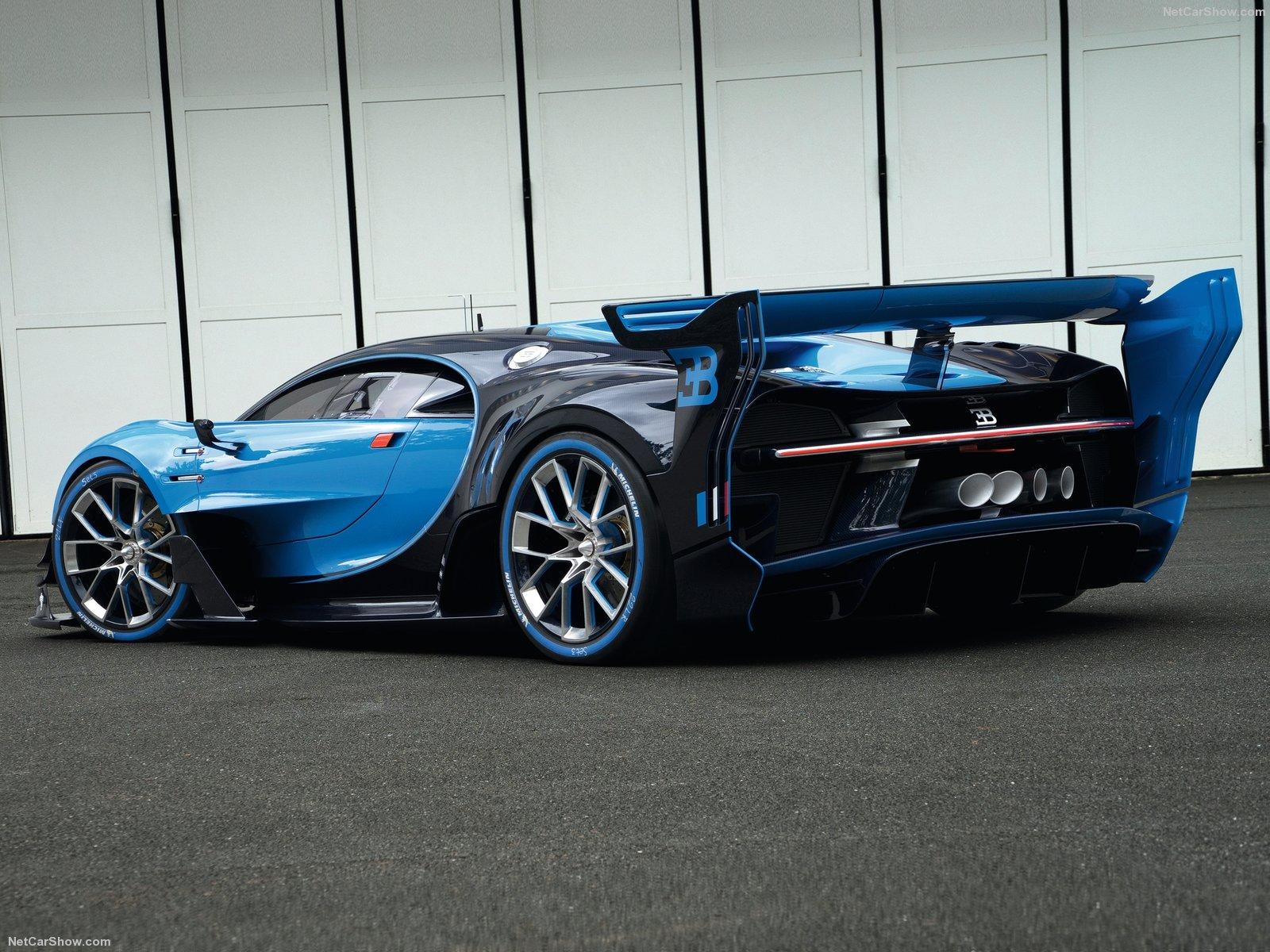 Hình ảnh siêu xe Bugatti Vision Gran Turismo Concept 2015 & nội ngoại thất