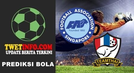 Prediksi Singapore U19 vs Thailand U19