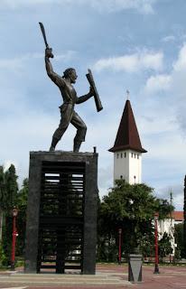 Patung Pattimura, Lokasi: Ambon