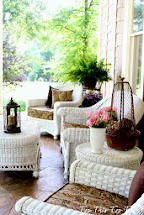 Summer 'southern' Front Porch - Duke Manor Farm