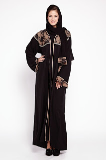 Black abaya dress 2015
