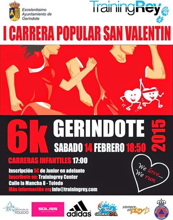 I Carrera de San Valentín de Gerindote