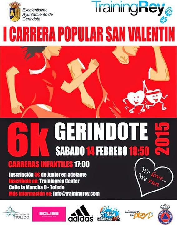 I Carrera de San Valentín de Gerindote