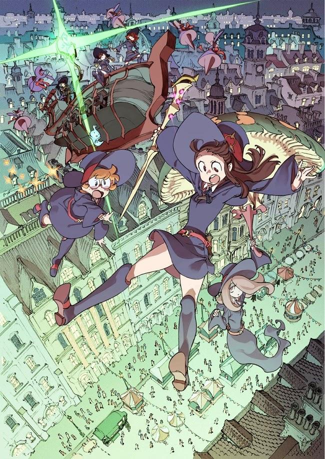 Little Witch Academia: Mahou Shikake no Parade vídeo promocional
