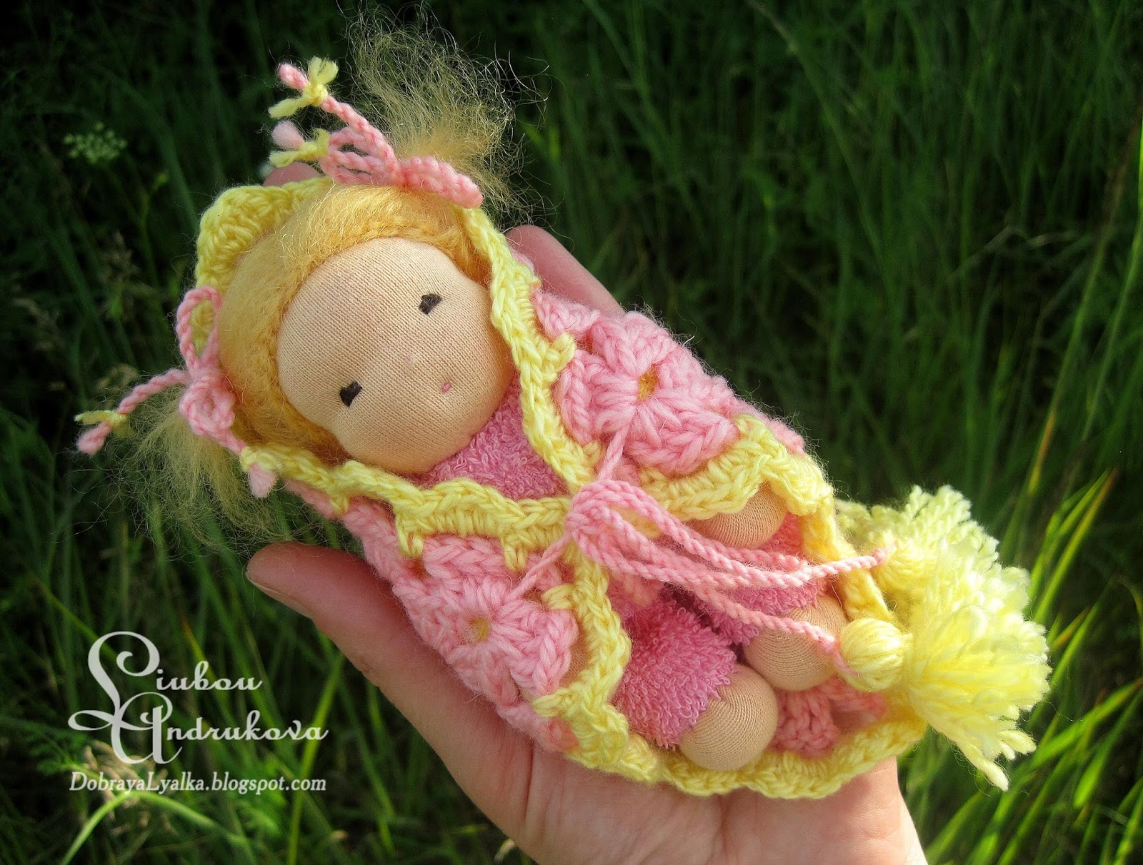 игровая куколка для девочки