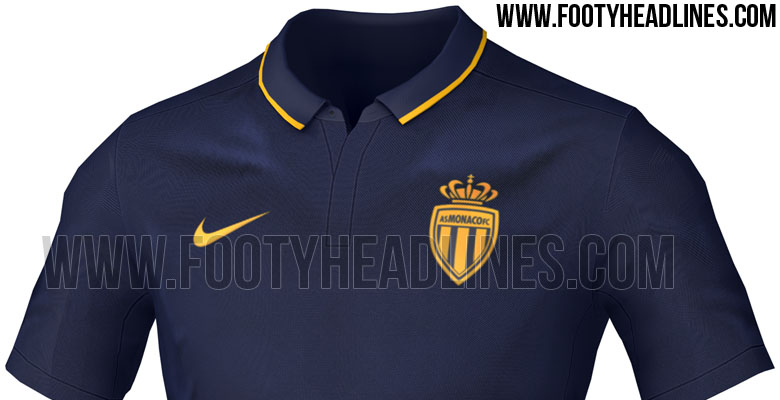 camisetas de futbol AS Monaco mujer