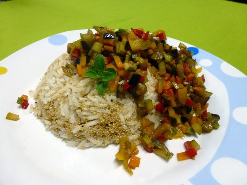 Cocina light arroz con amaranto y vegetales - Arroz con verduras light ...