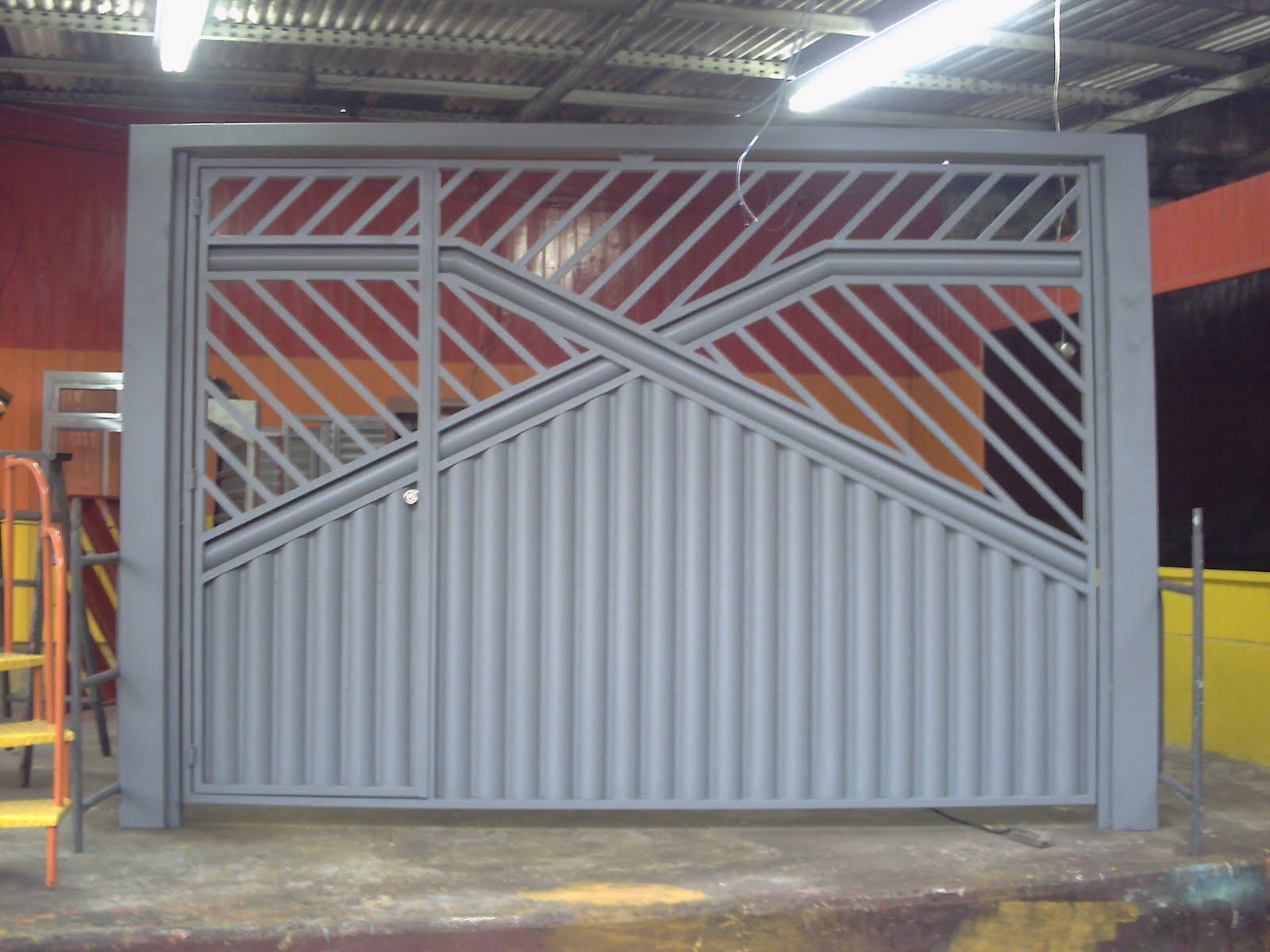 #987133  em Estética Soluções e Reparos Residencial: Portão de Elevação 1030 Portas E Janelas De Aluminio Campo Grande Ms