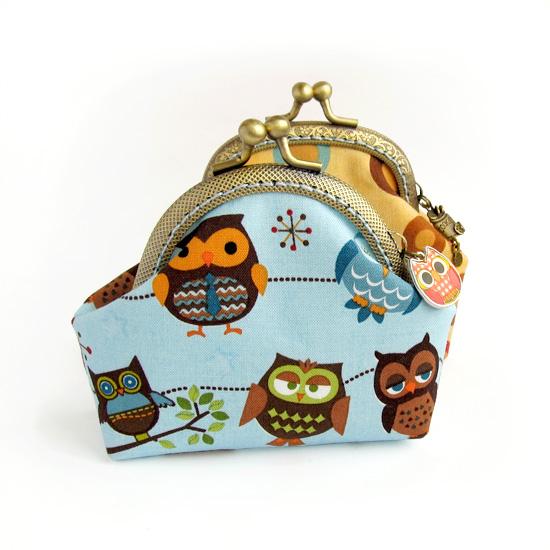 Owls, purse, кошелек с совами