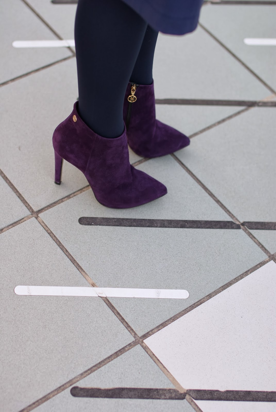 Fabi shoes, purple suede ankle boots, Fashion and Cookies, fashion blogger