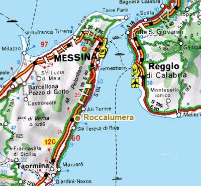 Google maps europe mappa della provincia di messina regione for Mappa della costruzione di casa