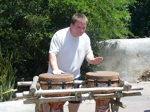 Disney Animal Kingdom drums bongos