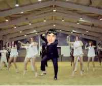 video personalizzato di Gangnam Style